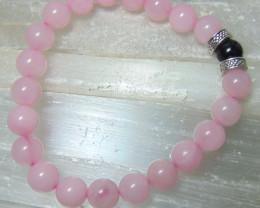 collective PIECES Rose quartz beads bracelet 99.00 cts