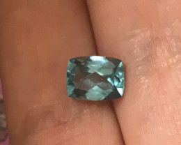 Stunning Blue Apatite