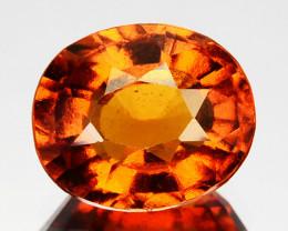 ~CINNAMON ORANGE~ 2.36 Cts Natural Hessonite Garnet Oval Sri Lanka