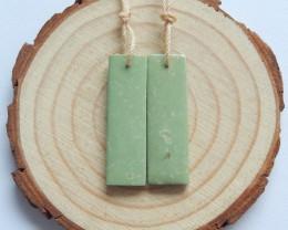 16.5cts turquoise earrings ,rectangle earrings ,healing stone ,Matching Pai