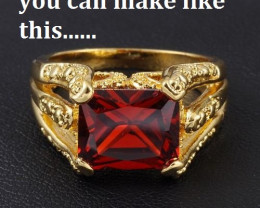 Amazing Red Garnet 3.00 ct