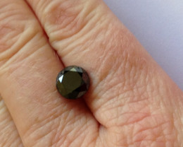 3.00ct. Black Brilliant Cut Diamond