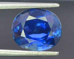 Certified 3.07 Carats Natural Sapphire  Gemstones