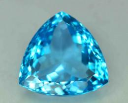 39.75 Carats Blue Topaz Loose Gemstone