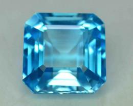 24.15 Carats Blue Topaz Loose Gemstone