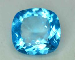 22.25 Carats Blue Topaz Loose Gemstone