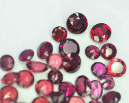 26.25 Carats Natural Rhodolite Garnet Gemstones