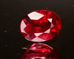 1.14ct  Burma Ruby