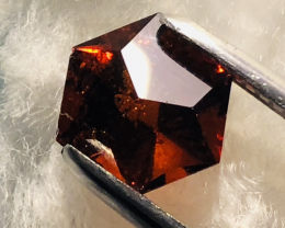 3.65CT HESSONITE , JEWELLERY SIZE- VERY GOOD COLOR