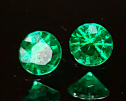 .16TCW Emerald Matching Pair