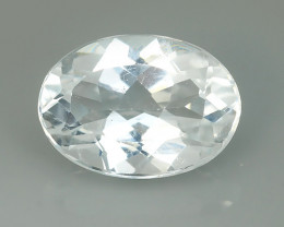 7.60 CTS DELUXE REAL WHITE NATURAL TOPAZ CUSHION UNHEATED