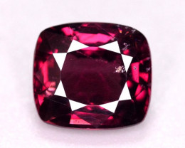 Amazing Color 2.35 Ct Natural Pinkish Red Spinel From Burma. ARA