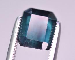 1.90 Ct Superb Color Natural Blue Tourmaline. RA