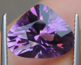 5.50cts, Amethyst,  Top Cut, Clean, Untreated,