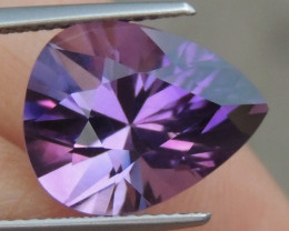 6.24cts, Amethyst,  Top Cut, Clean, Untreated,