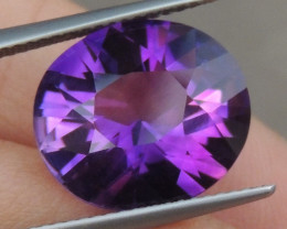 7.06cts, Amethyst,  Top Cut, Clean, Untreated,