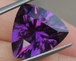 7.94cts, Amethyst,  Top Cut, Clean, Untreated,