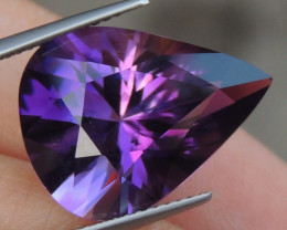 11.12cts, Amethyst,  Top Cut, Clean, Untreated,