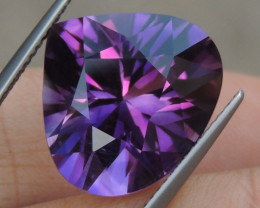 11.65cts, Amethyst,  Top Cut, Clean, Untreated,