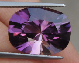 11.81cts, Amethyst,  Top Cut, Clean, Untreated,