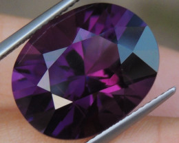 12.46cts, Amethyst,  Top Cut, Clean, Untreated,