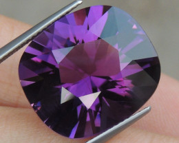 16.93cts, Amethyst,  Top Cut, Clean, Untreated,