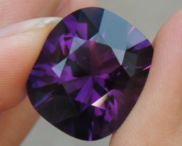 26.93cts, Amethyst,  Top Cut, Clean, Untreated,