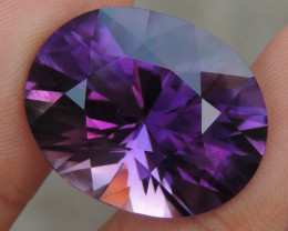 29.53cts, Amethyst,  Top Cut, Clean, Untreated,