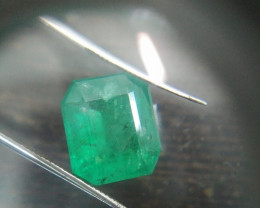 9.22cts Colombian Emerald , 100% Natural Gemstone