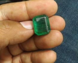 19.13cts  Zambian Emerald , 100% Natural Gemstone