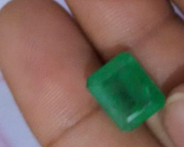 7.40cts Colombian  Emerald , 100% Natural Gemstone