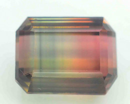 Top Quality 8.10 Cts Natural Bi Color Tourmaline Gemstones