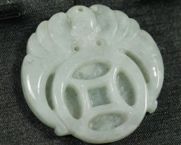 167.0Ct Natural Grade A Jadeite Jade Pendant