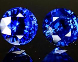 1.40tcw Sapphire Pair