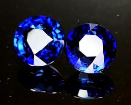 2.33tcw Sapphire Pair