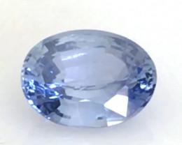 CERTIFIED Luminous Unheated 1.14 ct Ceylon Blue Sapphire G278