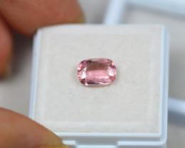 1.21Ct Pink Tourmaline Octagon Cut Lot LZ1738