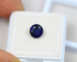 2.49Ct Blue Sapphire Composite Round Cut Lot LZ1739