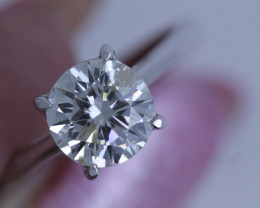 1.57CTS -GIA  CERTIFIED SOLITAIRE DIAMOND RING TBM-1629