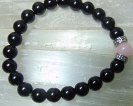 collective PIECES Bracelets 8mm Black Onyx