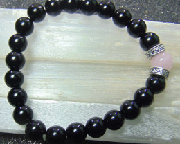 collective PIECES Bracelets 8mm Black Onyx