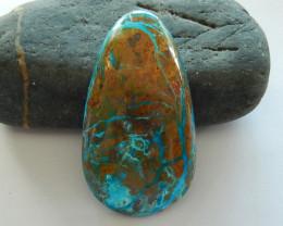 151.5cts Blue Opal Cabochon, October Birthstone, Blue Opal  Bead B196