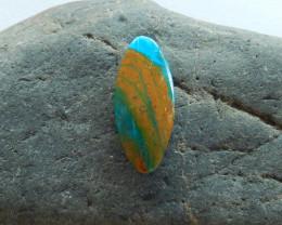 10.15cts Blue Opal Cabochon, October Birthstone, Blue Opal Bead B195