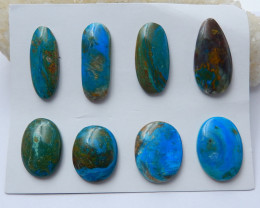 High Quality Blue Opal Gemstone Cabochons Designer Making E370