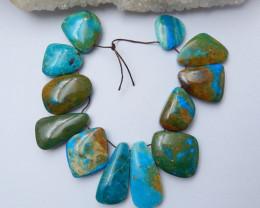 High Quality Blue Opal Gemstone Cabochons Designer Making B214
