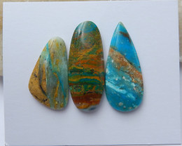 High Quality Blue Opal Gemstone Cabochons Designer Making B216