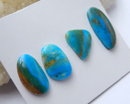 High Quality Blue Opal Gemstone Cabochons Designer Making B219