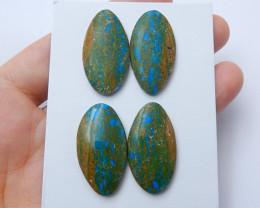 High Quality Blue Opal Oval Gemstone Cabochons Designer Making E363