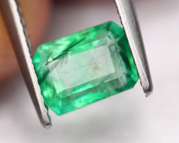 1.44Ct Natural Vivid Green Zambian Emerald ~ B2106