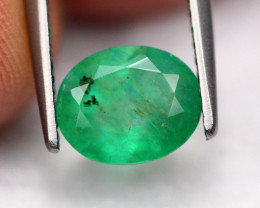 1.59Ct Natural Vivid Green Zambian Emerald ~ B2115